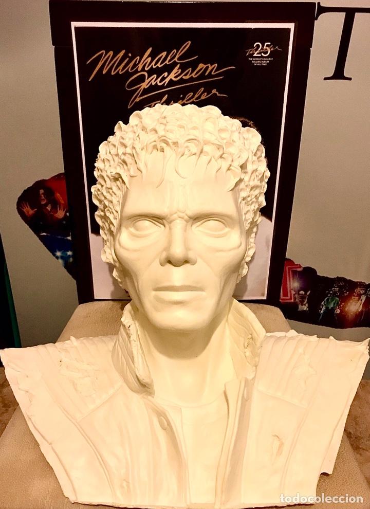 Busto Michael Jackson en Thriller