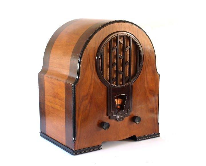 Radio de válvulas.