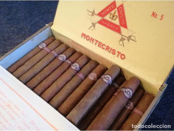 Caja de puros Montecristo