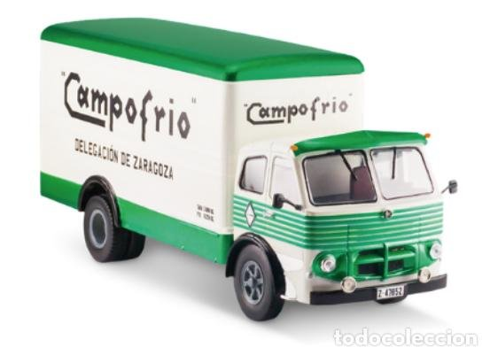 Camión Pegaso Cabezón de Campofrío