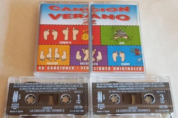Canciones del verano de los 90