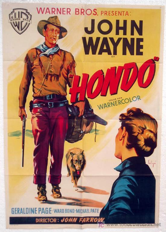 Cartel Hondo de John Wayne
