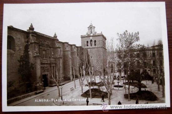 Postal de la catedral de Almería