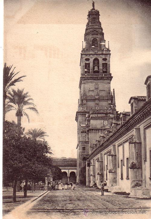 Postal de la catedral de Córdoba