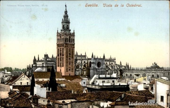 Postal de la catedral de Sevilla