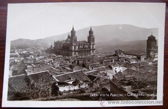 Postal de la catedral de Jaen