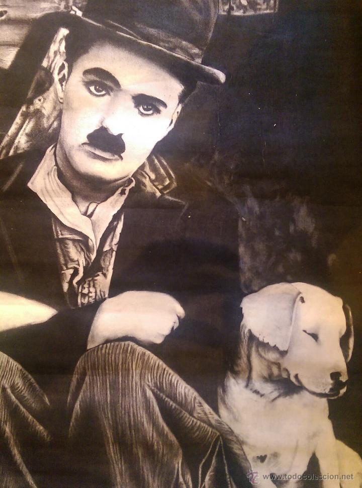 Charles Chaplin y su perro