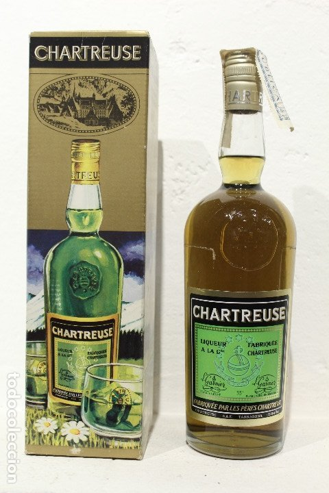 Botella Chartreuse verde