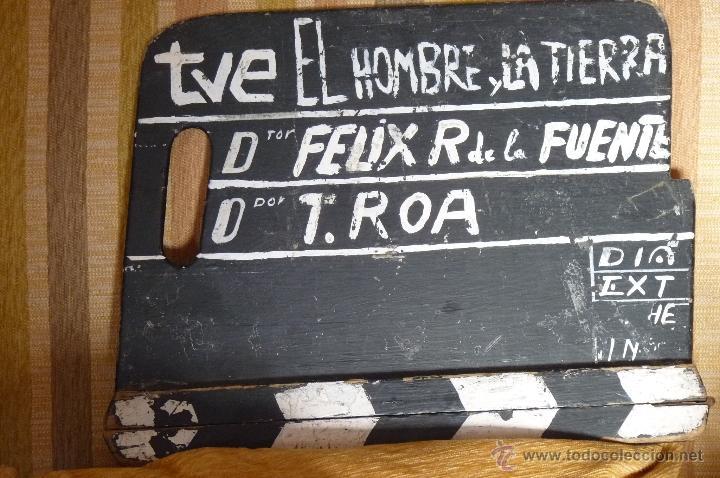 Claqueta de El Hombre y la Tierra, Félix Rodríguez de la Fuente