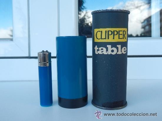 Mechero Clipper table