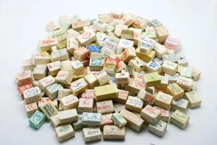 Colección de terrones de azúcar