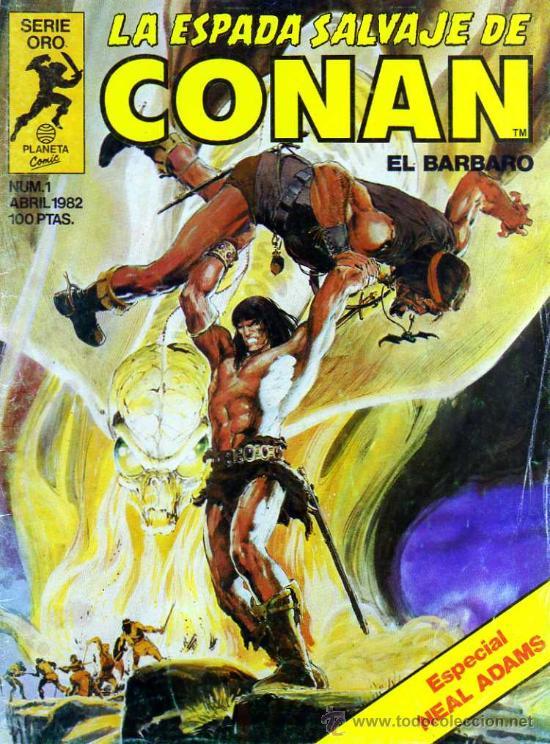 Cómic La espada salvaje de Conan
