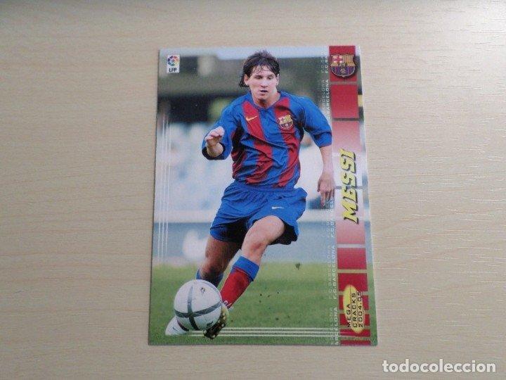 Cromo Messi Panini MegaCracks 2004-05