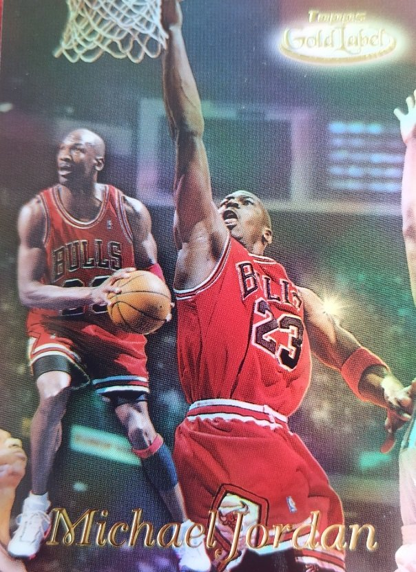 Cromo de Michael Jordan