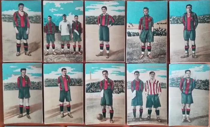Cromos de fútbol antiguos