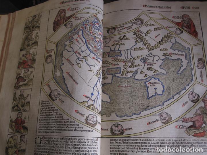 Incunable Las crónicas de Nuremberg