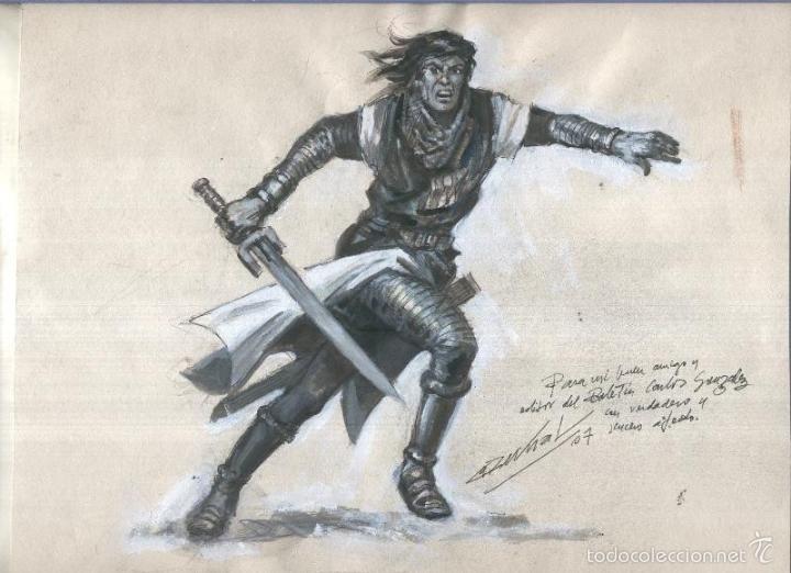 Dibujo de Capitán Trueno