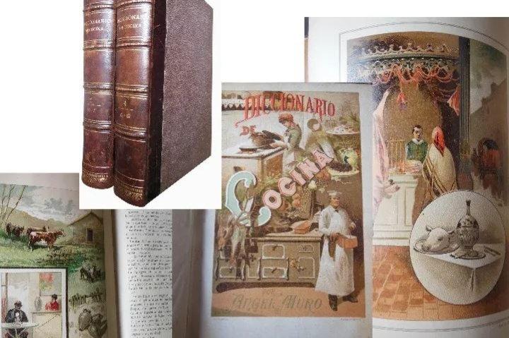 Libros de cocina antiguos