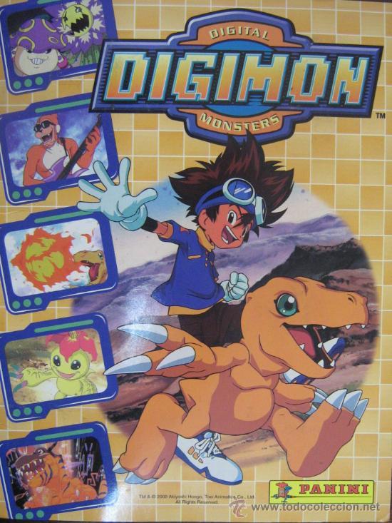 Album Digimon Panini
