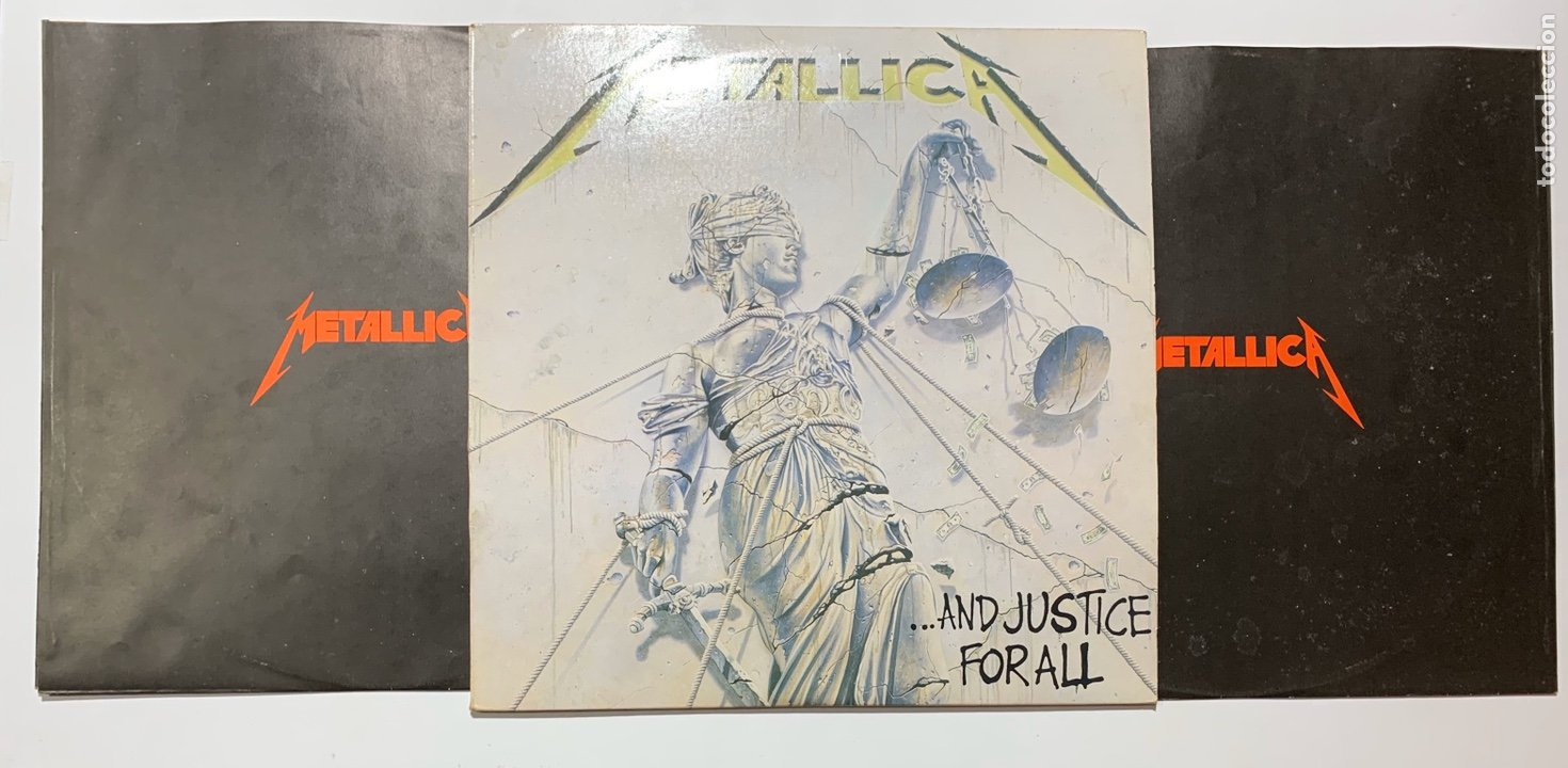 Disco de Metallica - ...and justice for all