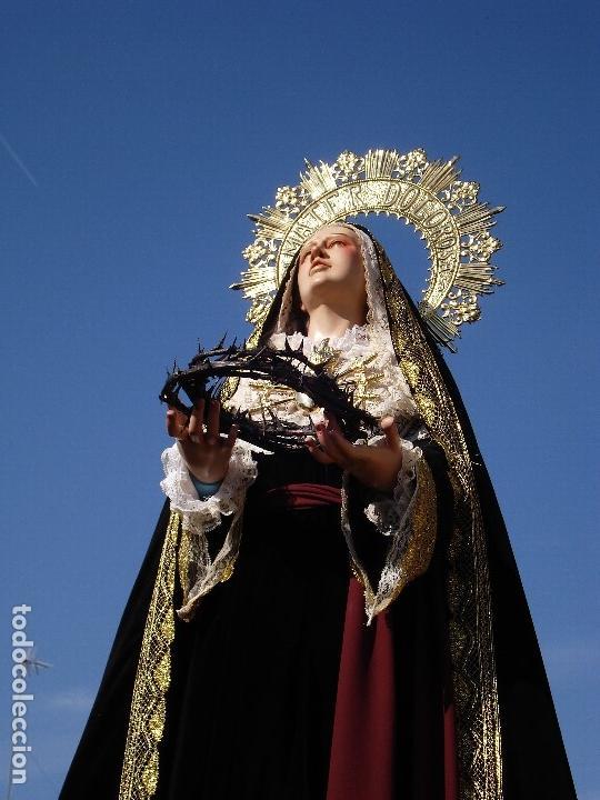 Virgen Dolorosa cap i pota procesional