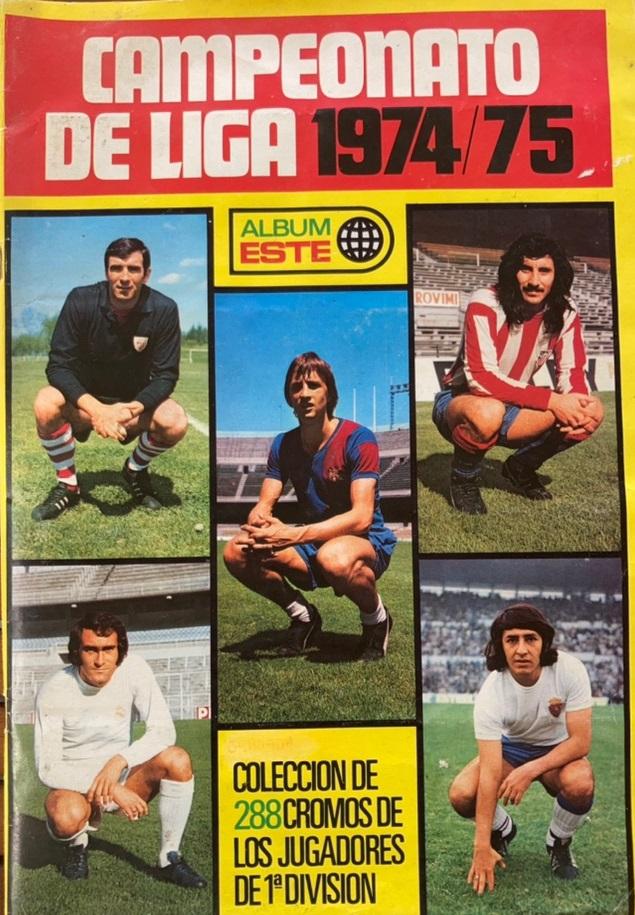 Ediciones Este Campeonato Liga 74-75