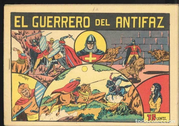 El Guerrero del Antifaz tebeo