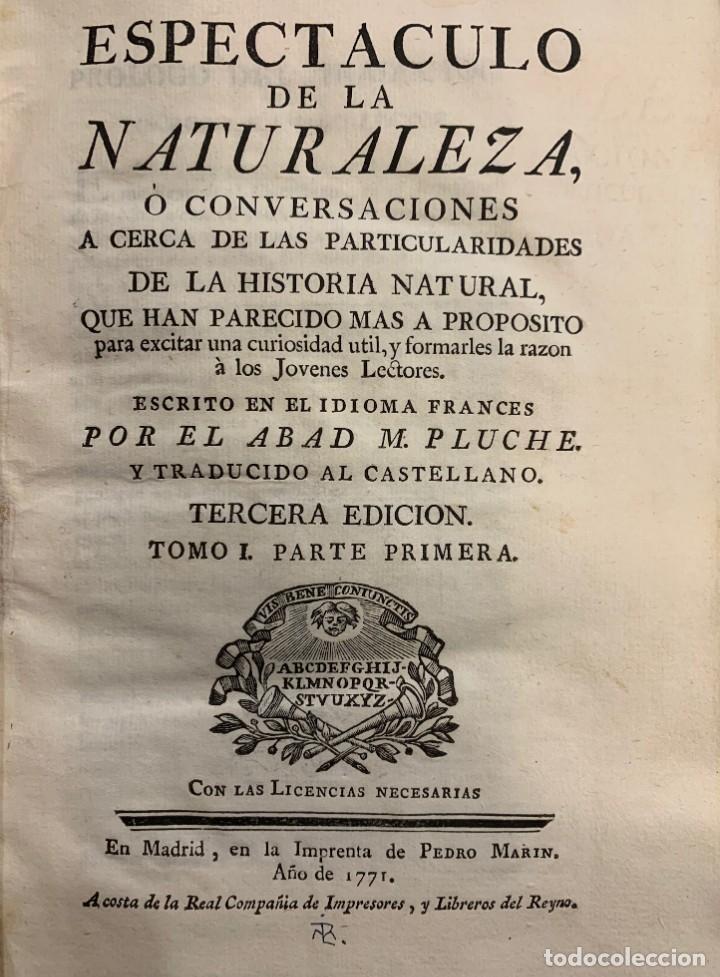 Libro Espectáculo de la Naturaleza