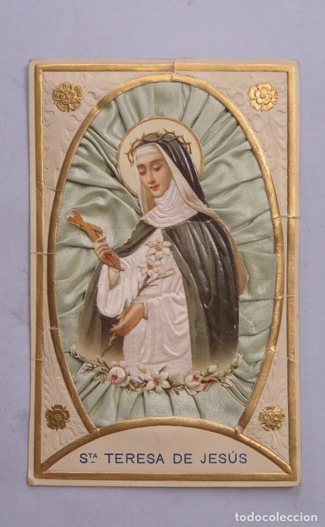 Estampa de Santa Teresa de Jesús
