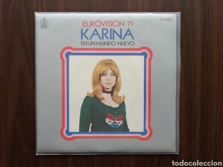 Eurovisión Karina - En un mundo nuevo