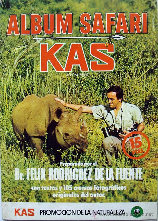 Album Safari Félix Rodríguez de la Fuente