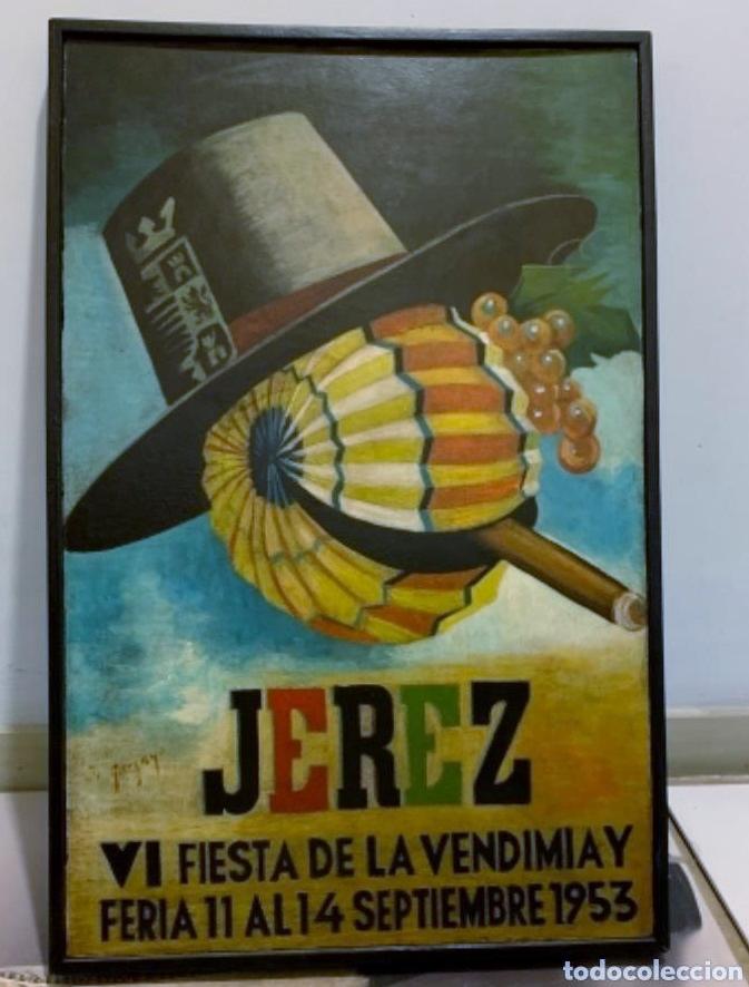 Fiestas de la Vendimia en Jerez (año 1953)