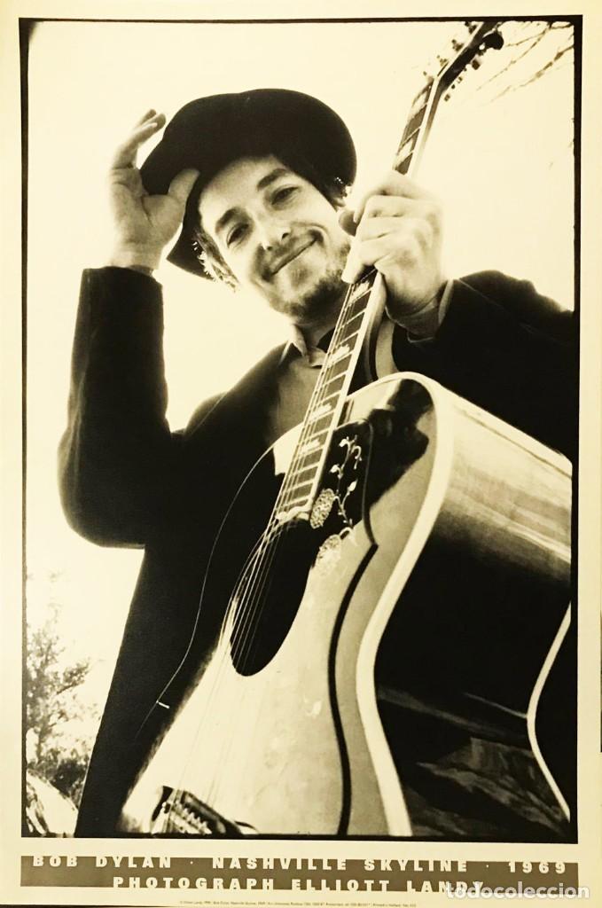Bob Dylan fotografiado por Elliot Landy