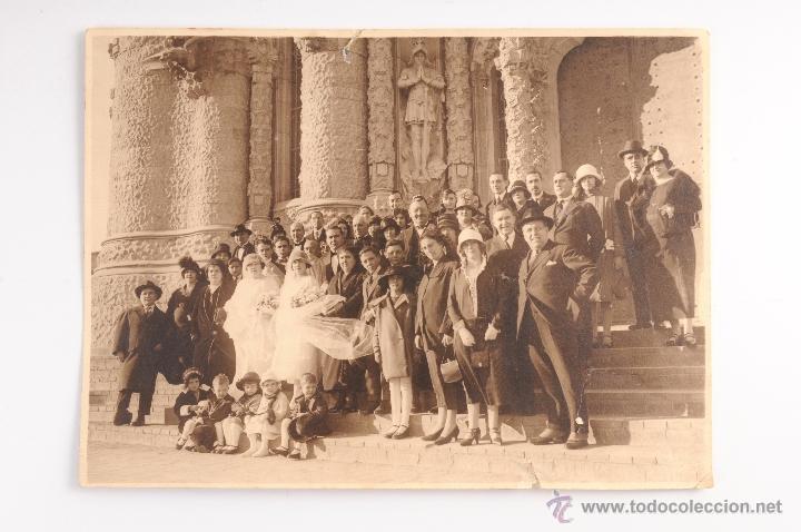 Fotografía oficial boda antigua