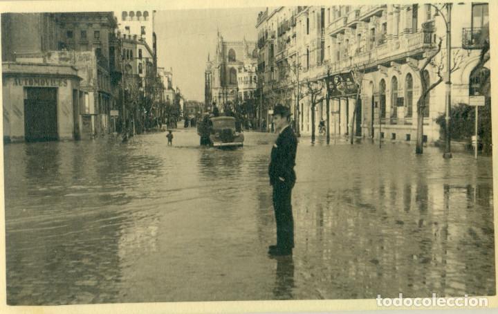 Fotografía de las inundaciones de Sevilla en 1948