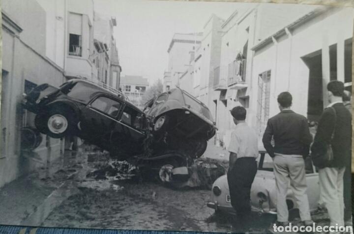 Fotografía de las inundaciones de Tarrasa (1962)