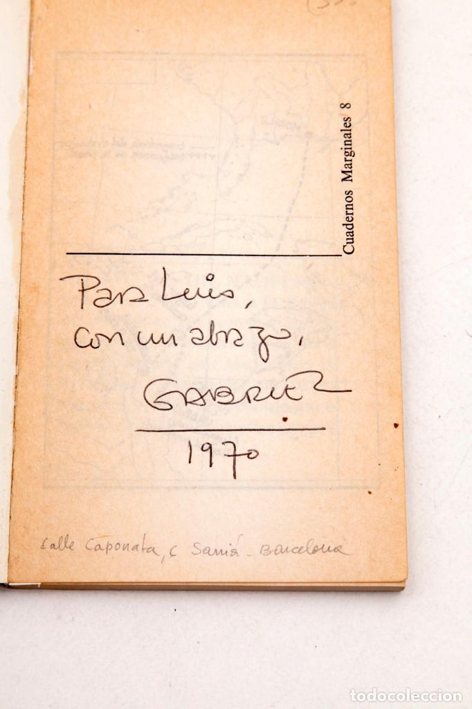 Gabriel García Márquez, libro firmado