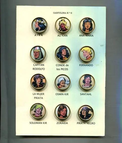 Personajes El Guerrero del Antifaz