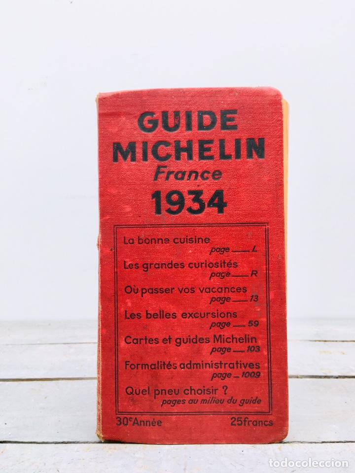 Guía Michelín Francia
