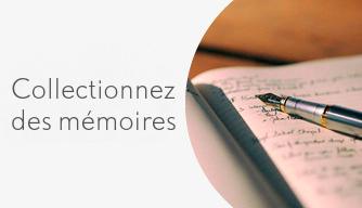 Blog Collectionnez des mémoires