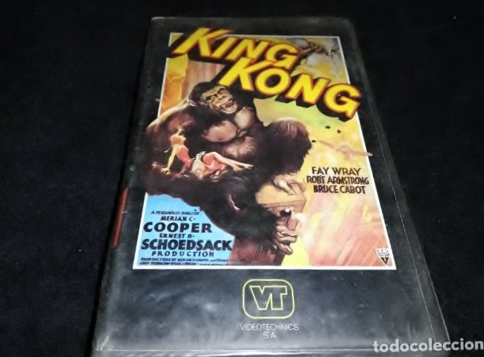King Kong, película en Vídeo 2000