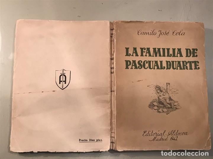 La familia de Pascual Duarte de Camilo José Cela