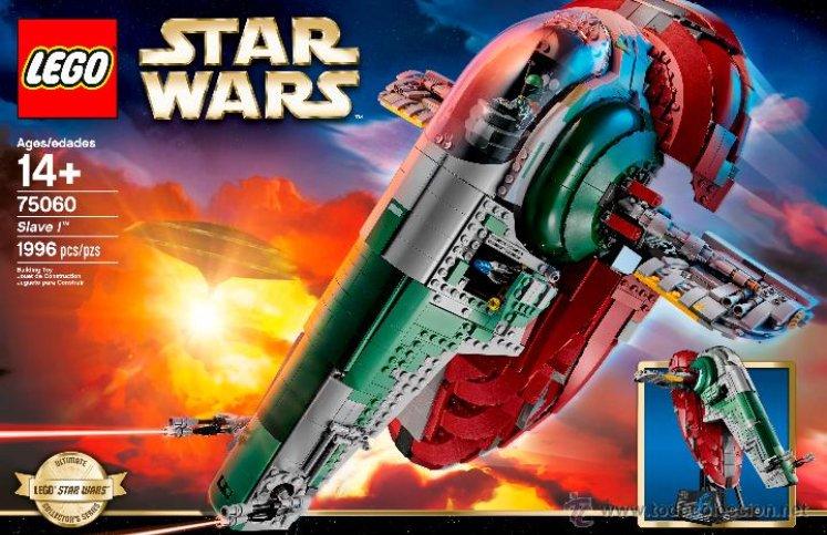Caja Lego de Star Wars
