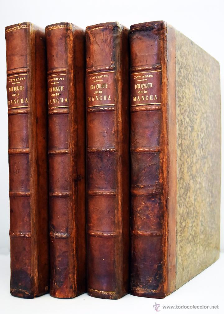 Libro El ingenioso hidalgo Don Quixote de Editorial Joaquín Ibarra (1780)