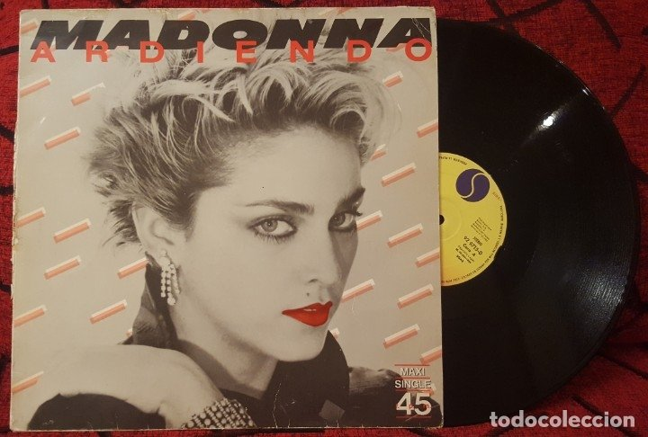 madonna-burning-up