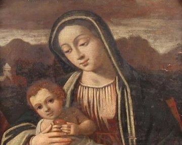Pintura religiosa de Madonna