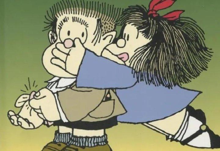 Mafalda y Manolito