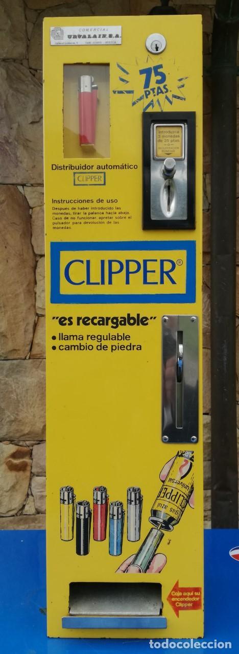 Máquina de mecheros Clipper
