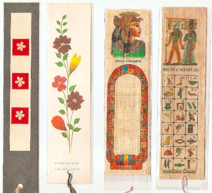 Marcapáginas de Egipto