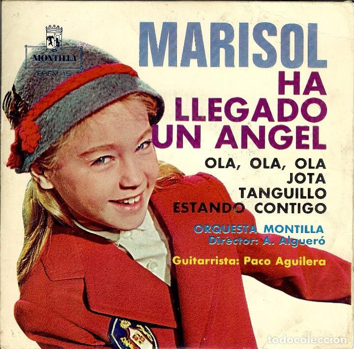 Vinilo de Marisol: Ha llegado un ángel